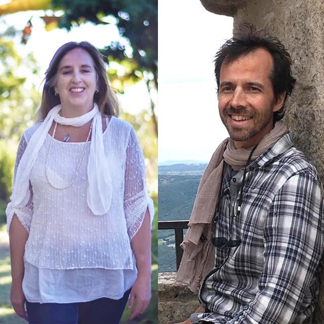 Vistar Pinheiro e Vishwa Schoppan criadores Terraflor aromaterapia