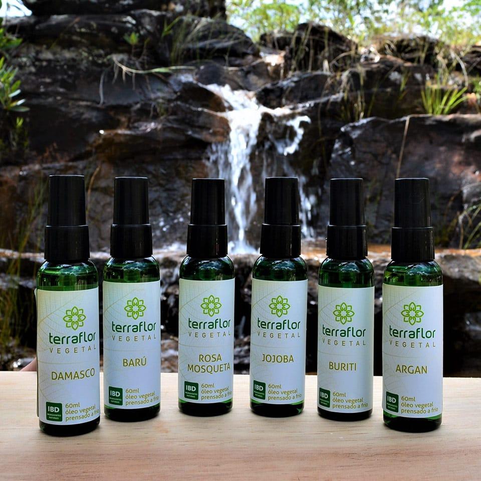 Oleos vegetais aromaterapia terraflor chapda dos veadeiros