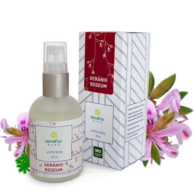 Aroma Spray de Gerânio Roseum 60ml