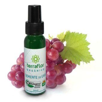 Óleo vegetal de Semente de uva orgânico 60ml - Imagem meramente ilustrativa